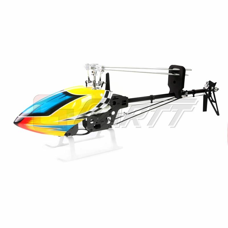 Gartt 450 DFC Belt Drive Carbon Fiber Frame Flybarless 6CH 3D Helicopter