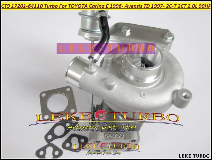 CT9 CT12B 17201-64110 17201 64110 1720164110 Turbo Turbocharger For TOYOTA Carina E 1996- Avensis TD 1997- 2C-T 2CT 2.0L 90HP toyota carina e подержанную санкт петербург