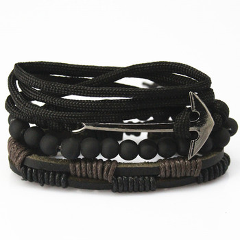 Bead Leather Bracelets & bangles for Woven