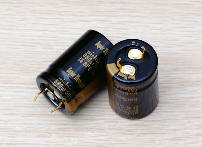 země původu Nichicon - 2020 hot sale 2PCS/10PCS nichicon Audio Electrolytic Capacitors KG Super Through 680U/50V free shipping