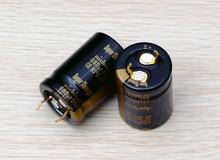 2PCS nichicon Audio Electrolytic Capacitors KG Super Through 680U/50V free shipping конденсатор nichicon kg super through 16v 4700uf