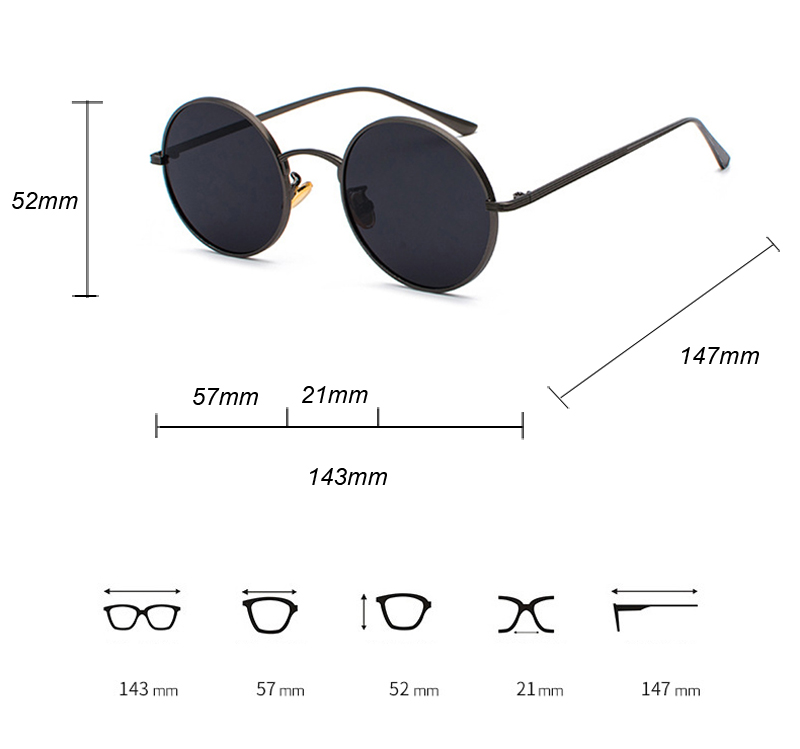 women sunglasses with red lenses detail (1)