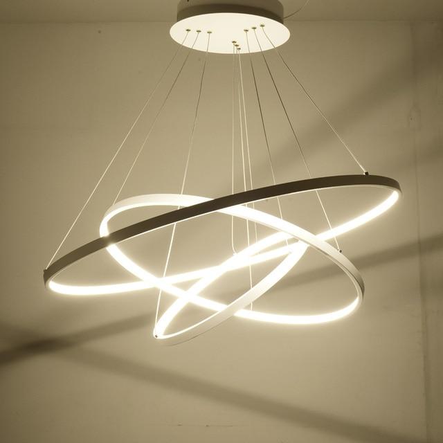 Modern Rings LED Pendant Lights for Living room Dining ...