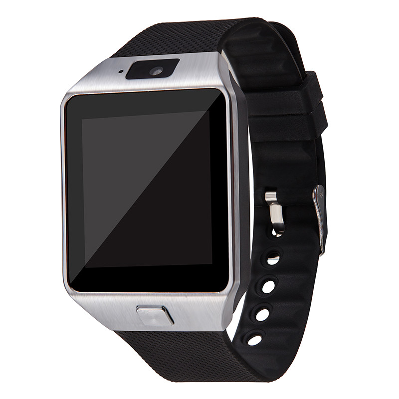 Smart Watch DZ09 Android Phone TF Sim Card Camera Men Women Sport Wristwatch with Packing Box black one size 17