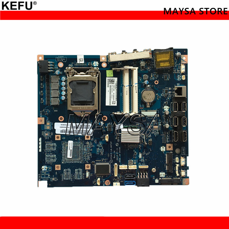 100% working desktop motherboard for B550 VIA15 LA-A071P mainboard fully tested desktop motherboard for lenovo iq67i 03t8362 03t8007 03t6559 system mainboard fully tested and working well