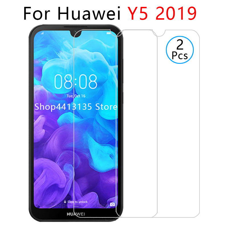 case for huawei <font><b>y5</b></font> <font><b>2019</b></font> case on y52019 y 5 5y <font><b>y5</b></font> prime pro <font><b>2019</b></font> back cover cases protective phone coque tempered glass 5.71 image