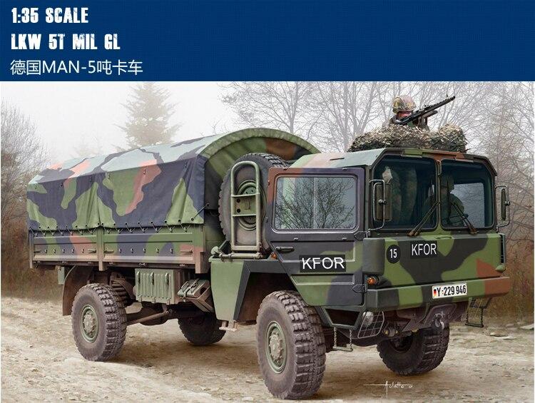 Trompet 1/35 Alman MAN-5 tonluk kamyon 85507 Montaj modeliTrompet 1/35 Alman MAN-5 tonluk kamyon 85507 Montaj modeli