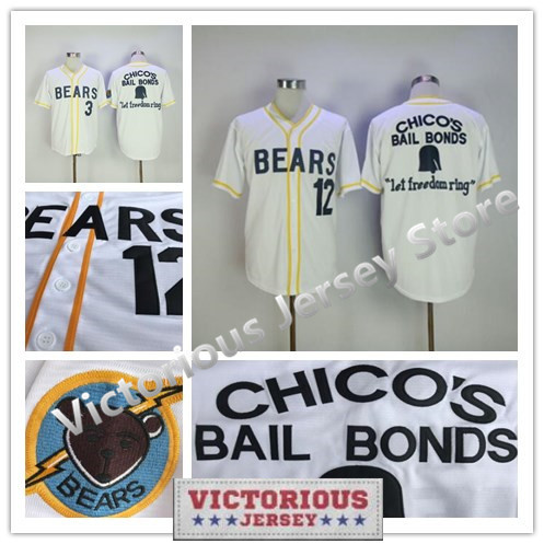 Fan Apparel & Souvenirs Responsible The Bad News Bears #12 Tanner Boyle Baseball Jersey M Baseball-other