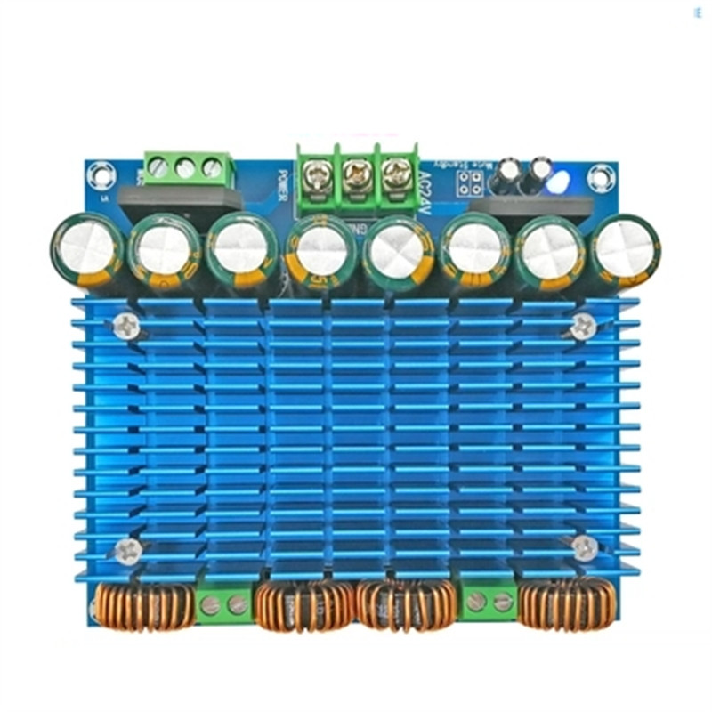 Ultra High Power BTL Mode Dual 24V Stereo 420W x 2 TDA8954TH Dual Chip Class D Digital Audio HIFI Amplifier Board module XH-M252 цена