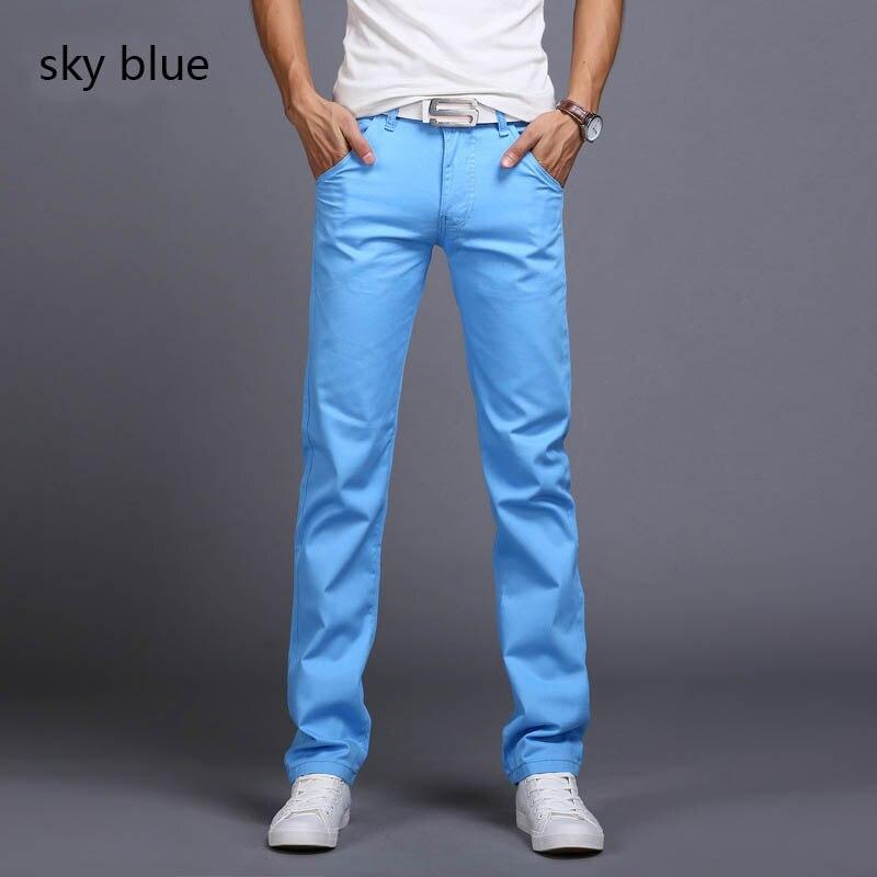 4b8a8fc819a Холила 2018 Большая распродажа Весна Лето Джинсы тонкие бесплатная доставка  2017 мужская мода джинсы menpants одежда