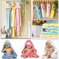 Nuevo hilado en bolsas toalla bebé era / manta de bebé recién nacido toalla de baño manta envío libre 2 unids/lote
