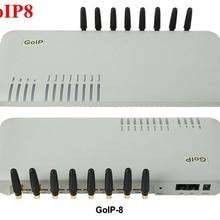 GoIP 8 Порты GSM шлюз/voip sip шлюз/IP GSM шлюз/GoIP8 VoIP GSM шлюз поддержка SIP/H.323-специальное предложение по цене