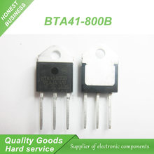 5pcs BTA41-800B BTA41800B BTA41-800 BTA41 Triacs 40 Amp 800 Volt TO-3P new original