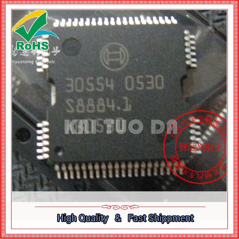 Бесплатная доставка 2 шт. 30554 кузова бортовой компьютер питания водитель микросхема ME9.7 ЭБУ драйвер (YF1205)