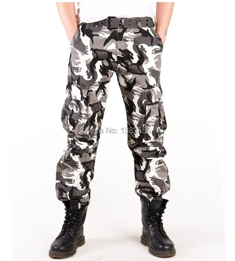 Men Military Tactical Outdoor Casual Camouflage Cargo Pants Army Combat Camo Pattern Sport Ranker Training Pants Spring Trousers Trouser Set Pants Leopardpant Clips Aliexpress