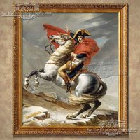 high quality Napoleon riding a triumphant return good luck hand painted oil painting horse running portrait picture handmade