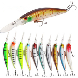 1 sztuk sztuczna przynęta na ryby 6 kolor długi język drobne 14.6g/14.5cm wody morskiej świeżej wody 4 hak karpia sprzęt wędkarski