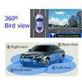 WEIVISION Sistema de Vista de Pájaro Panorama de 360 Grados sin fisuras, Todo Sistema de Visión, alrededor de Aparcamiento Coche DVR de Grabación, regalo 8G U disco