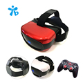 2017 NEW Thaiba vr headset all in one 3D virtual reality glasses Android5.1 Quad core free Game handle free shipping