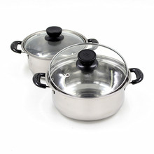 Качественный суповый горшок из нержавеющей стали, набор посуды с антипригарным покрытием, кастрюли для приготовления пищи, кастрюля, Немагнитный чайник для заваривания, 1 шт