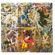32 pçs/set Só 37 Define Heróis Super Dragon Ball Goku Vegeta Batalha Cartão Ultra Instinto Game Collection Anime Cartões(China)