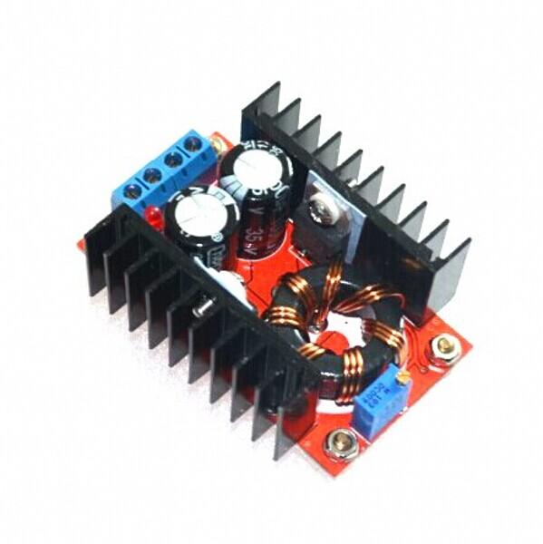 5pcs/lot 150W DC-DC Step Up Boost Converter Module Adjustable Static Power Voltage Regulator 10-32V To 12-35V