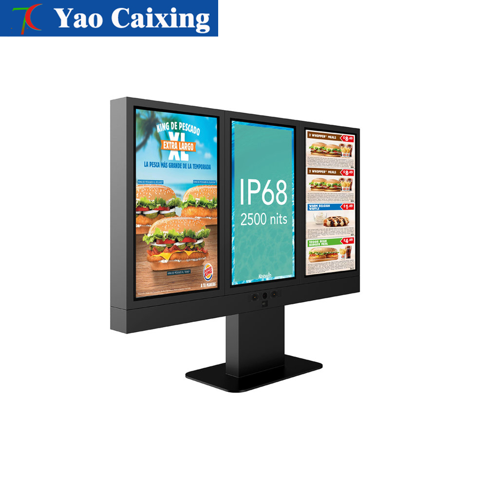 High Definition Outdoor TV Advertising Display IP65 Outdoor LED