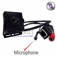 1080 P HD 2-МЕГАПИКСЕЛЬНАЯ IP-КАМЕРА Аудио видео камера 2.0 мегапиксельная IP камера Мини Пинхол камеры H.264 микрофон камеры P2P сети