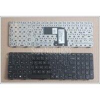 Neue US Tastatur FÜR HP Pavilion DV6 7000 DV6 7100 DV6 7200 DV6 7050ER Englisch laptop tastatur Schwarz mit rahmen-in Ersatz-Tastaturen aus Computer und Büro bei