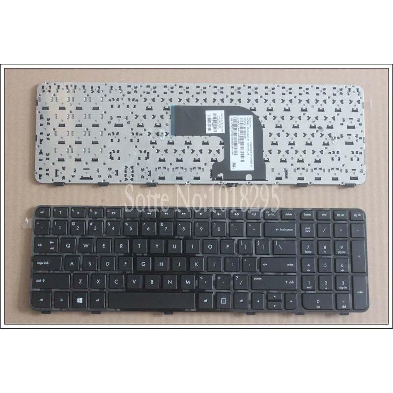 New US Keyboard FOR HP Pavilion DV6-7000 DV6-7100 DV6-7200 DV6-7050ER English Laptop Keyboard Black With Frame