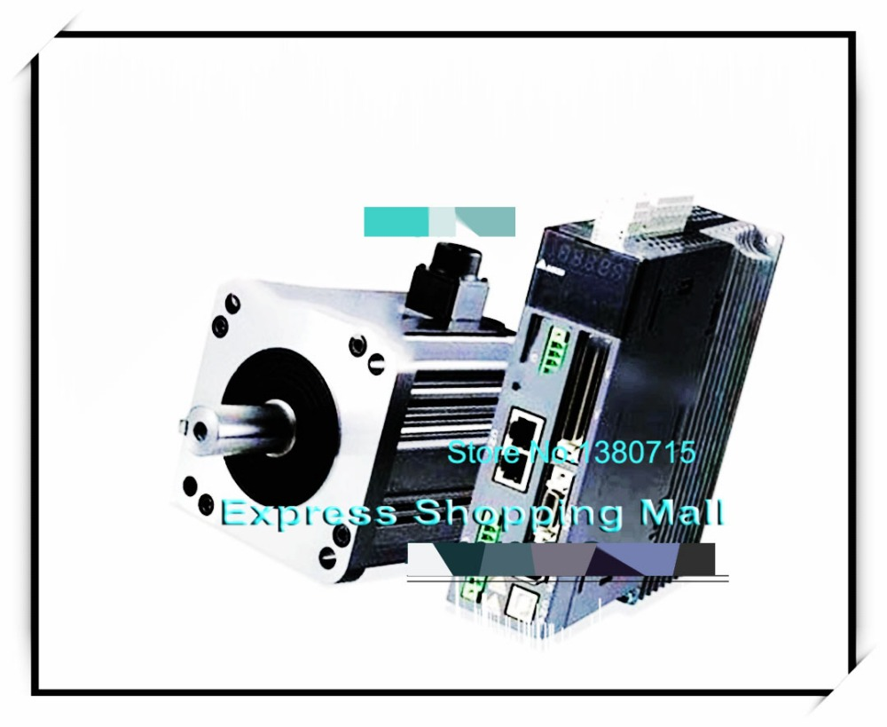 New original ASD-B2-1021-B+ECMA-E21310RS 130mm 220v 1kw 4.77NM 2000rpm 17bit AC servo motor&drive kit& cable asd b2 1021 b ecma c21010ss 100mm 220v 1kw 3 18nm 3000rpm 17bit delta brake ac servo motor