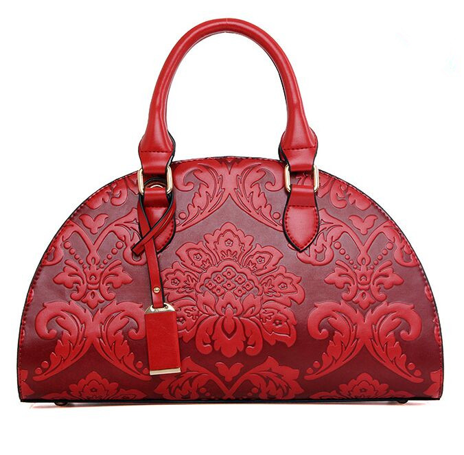 Classic Chinese Style Women Bags Red Women Shell Bag Toes Fashion font b Handbags b font