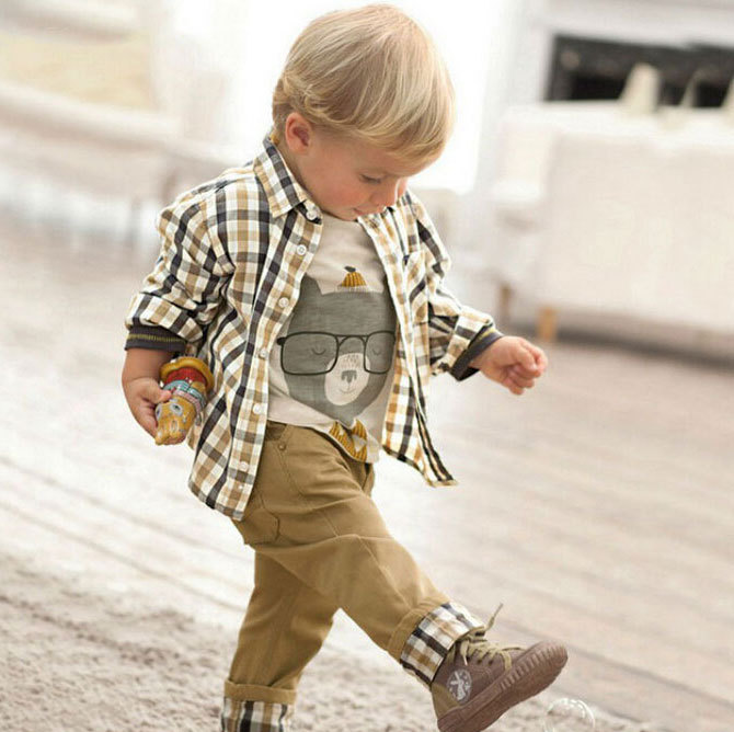 2016-New-Design-Boys-European-Style-3Pcs-Clothing-Set-Brand-Baby-Boy-Plaid-Cartoon-t-shirt-Suits-with-Loose-Soft-Jeans-C018-1