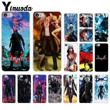 Yinuoda Devil May Cry 5 Coque Основа Чехол для iPhone X XS MAX 6 6s 7 7 plus 8 8 плюс 5 5S SE XR(China)