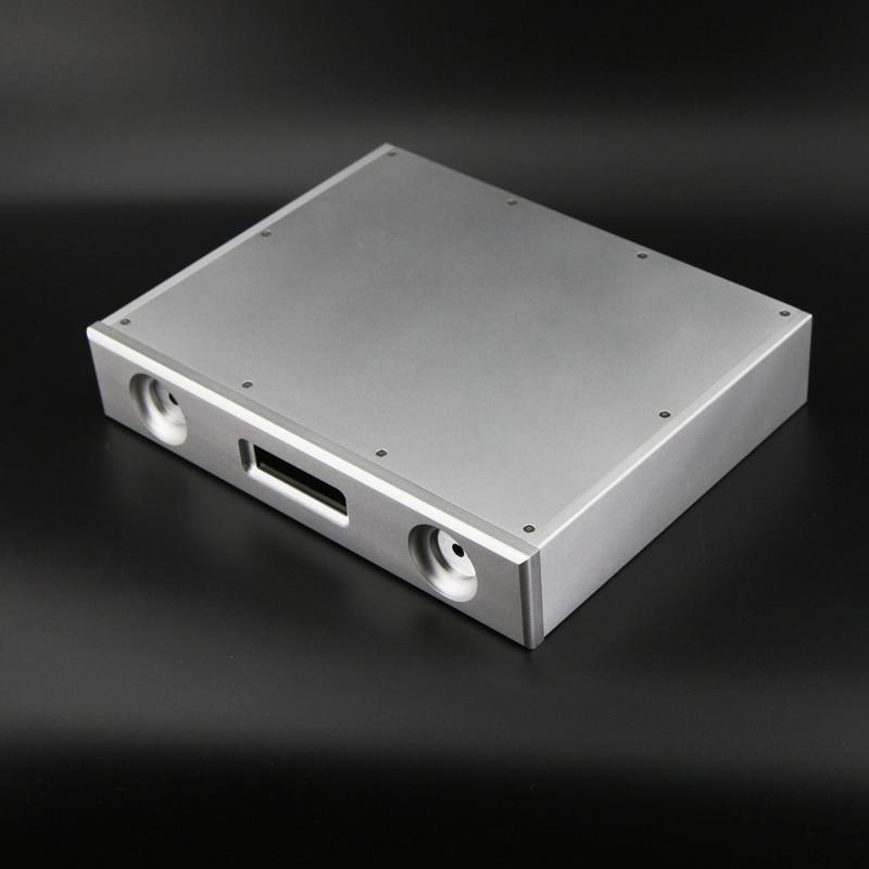 BZ3206D DAC Decoder Chassis All Aluminum Audio Decoder Housing DAC Box HIFI ES9018DAC Case New free shipping 10pcs lot pcm1704u pcm1704 dac sop audio decoder new original