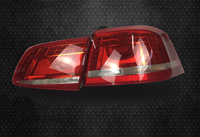 eOsuns Car styling for Volkswagen Passat b7 2012 2016 rear lamp, brake light, daytime running light,reversing signal fog lamp