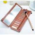 12 Colores Completos de Sombra de Ojos Cosméticos de Maquillaje de Sombra de Ojos Mate Shimmer Maquillaje Profesional Paleta de sombra de ojos para las mujeres