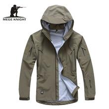 Mannen jas militaire kleding hardshell kleding camouflage leger herfst jas en jas voor mannen multicam windjack jas