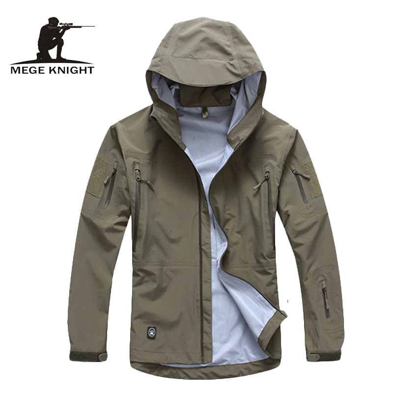 Men Jacket Military Clothing Hardshell Clothes Camouflage Army Autumn Jacket And Coat For Men Multicam Windbreaker Coat