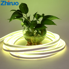 Neon RGB LED Strip Flexible 220V 230V 240V SMD5050 Strips Lights Waterproof Outdoor Home Decor Holiday Lighting