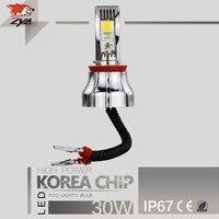 LYC 12 24 Volt Led Headlight Bulbs Led Light Bulb Projector Style Headlamps H8 H11 16