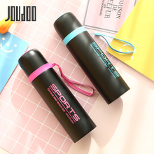 JOUDOO Thermos Mug 300ml Stainless Steel Vacuum Flask Bottle 500ml Coffee Mugs Drinkware 35
