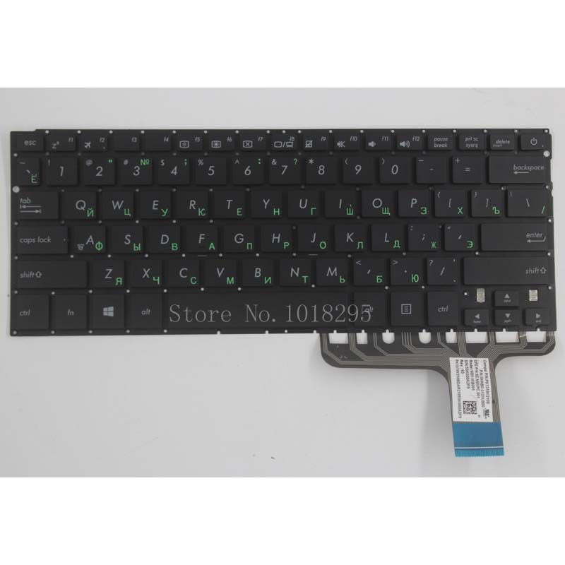 все цены на Russian Keyboard For ASUS Zenbook UX305 UX305LA UX305UA UX305CA UX305F Black No Frame laptop RU Keyboard онлайн