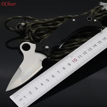 Dcbear Survival Hunting Folding Knife VG-10 Steel G10 Handle Utility Tactical EDC Camping Pocket Knives Outdoor Combat Tool G068
