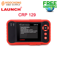 Top Selling 100% Original Launch X431 Creader CRP129 ENG/AT/ABS/SRS EPB SAS Oil Service Light resets Code Scanner free shipping