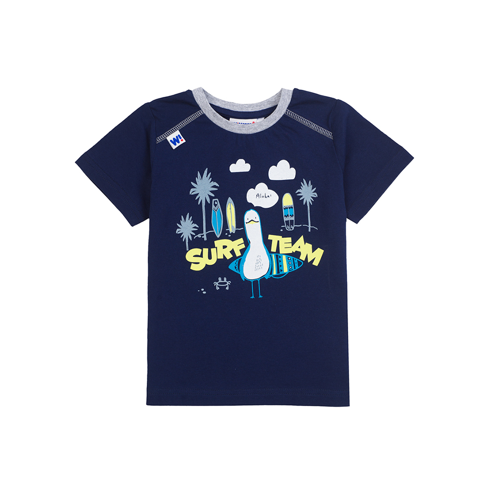 T-Shirts Winkiki for boys WB81008 Top Kids T shirt Baby clothing Tops Children clothes 2016 summer baby kids boys superman short sleeve t shirt cotton tops clothes 2 7 y