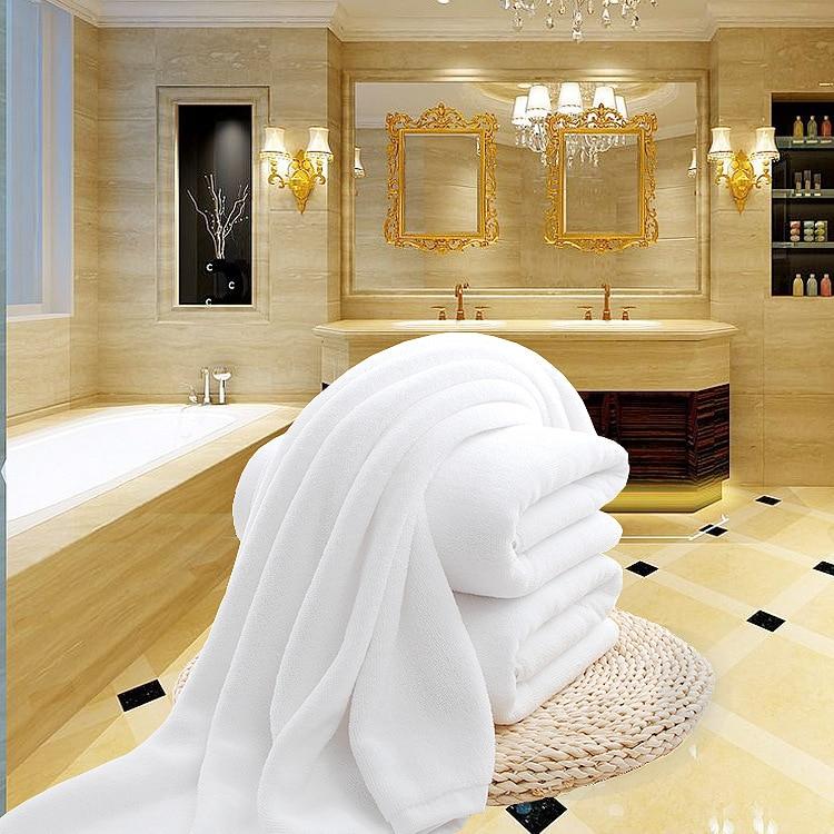 Herzhaft 75*150 Cm 600 Großen Feste Weiß Home Hotel Baumwolle Badetücher Spa Sauna Schönheitssalon Handtücher Plaid Bettdecke Dusche Handtücher Badezimmer