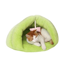 3 Colors Soft Fleece Winter Warm Pet Dog Bed Small Cat Sleeping Bag Puppy Cave House Nest High Quality