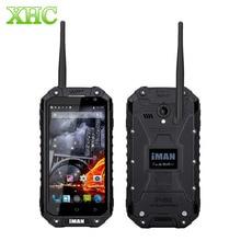 "IMAN i6 Teléfono 32 GB WCDMA 3G Smartphone IP68 A Prueba de agua 4.7 ""MTK6592 Octa Core 1.57 GHz RAM 2 GB Dual SIM 3500 mAh 13MP Teléfono Celular"