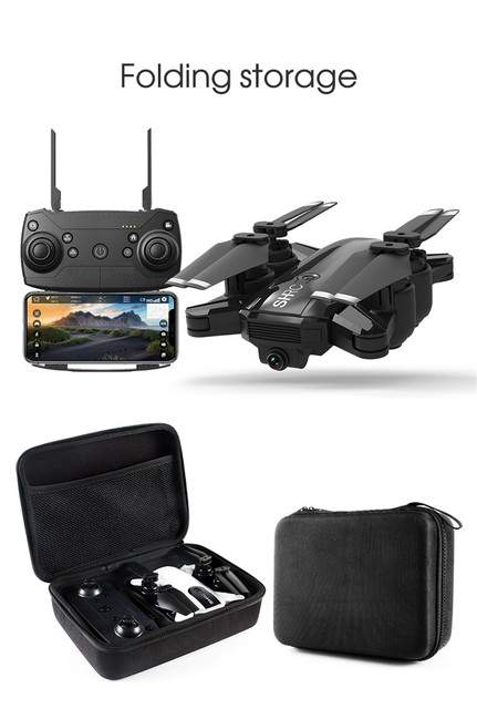 Profession Drone GPS 1080P HD Camera 5G Follow me WIFI FPV RC Quadcopter Foldable Selfie Live Video Altitude Hold Auto Return 6